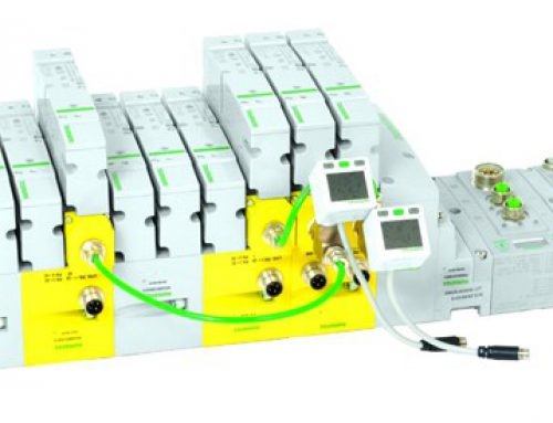 Wyspa zaworowa ASCO™ z serii 503 z elektroniką fieldbus G3″
